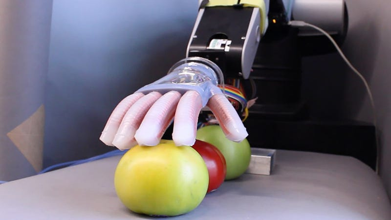 Soft Robot Hand Brings a Gentle Touch to the Future