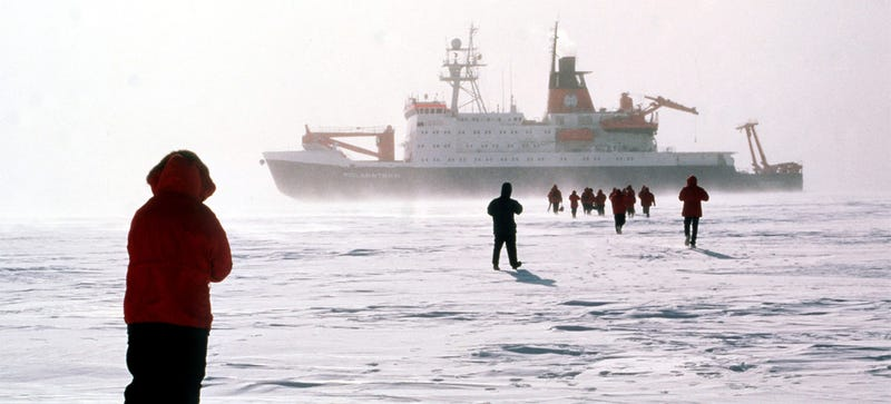 Illustration for article titled The Magnificent Evolution of Polar Icebreakers