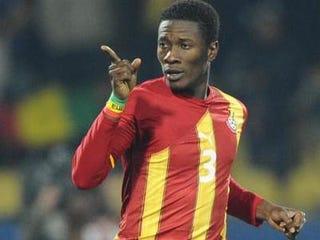 Asamoah Gyan of Ghana (GIANLUIGI GUERCIA/AFP/Getty)