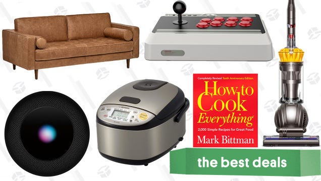 Saturday s Best Deals: Furniture Discounts, Dyson Ball, HomePod, FIFA 19, and More