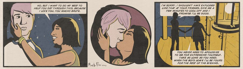 Illustration for article titled Lesbian Couple in New Star Trek Story
