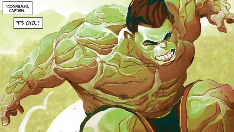 Illustration for article titled Marvel's Newest Hulk Isn't Feeling Totally Awesome Right Now