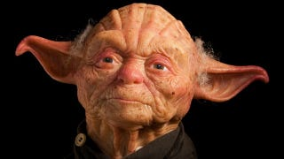 Illustration for article titled This is what Yoda would like as a human being. Yikes.