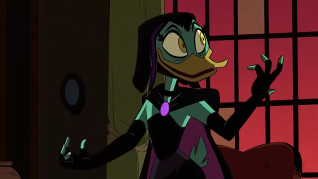 Catherine Tate's Magica De Spell returns to torment David Tennant's Scrooge on DuckTales