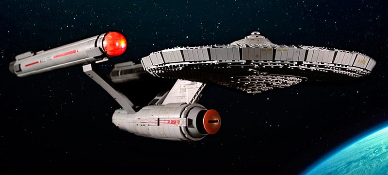 Illustration for article titled Mega Bloks' New Star Trek Construction Sets Are All About the Original Series