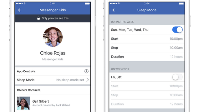 Facebook offers a minor fix for its troubling messenger kids service facebooks messaging service for kids has been met with some disapproval child health advocates want mark zuckerberg to delete the app altogether fandeluxe Choice Image