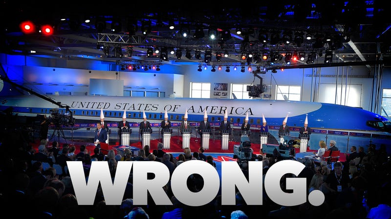 Illustration for article titled All of the Ways Last Night's GOP Debate Was Dangerously Wrong About Science