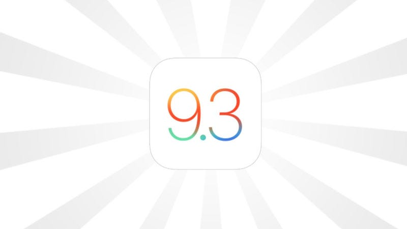 Illustration for article titled All the Best, New Features in iOS 9.3