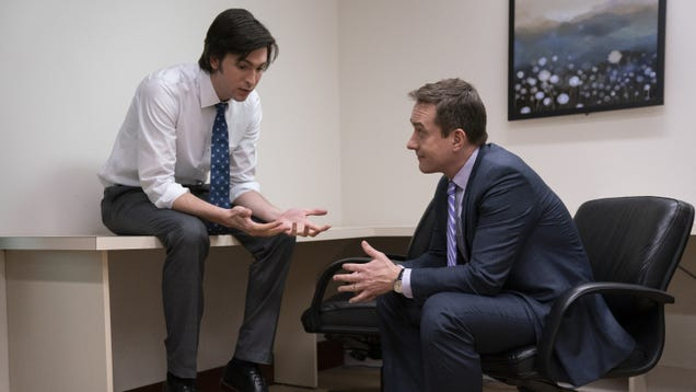 """Succession's Tom and Greg spend time in a """"Safe Room"""""""
