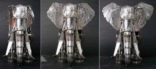 Illustration for article titled Amazing Mechanical Elephant Is Not Afraid of USB Mice
