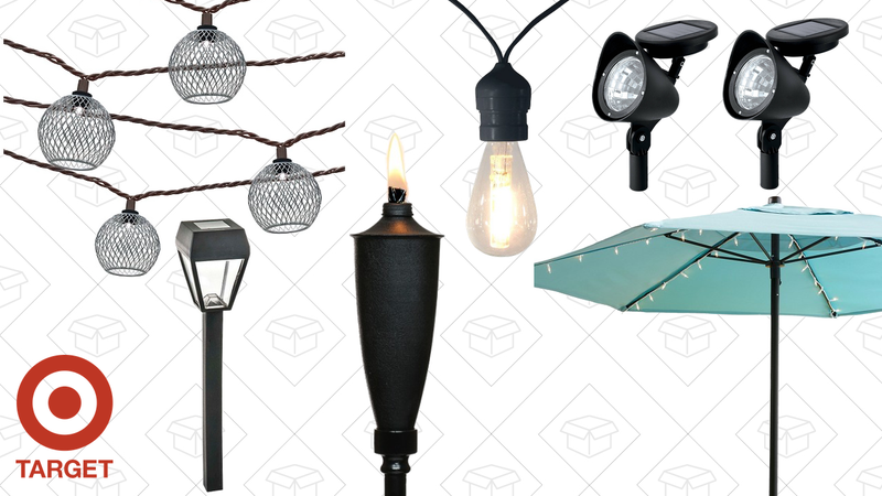 BOGO 50% off patio lighting sale