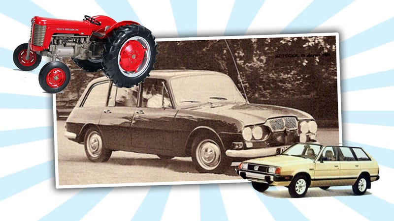 Illustration for article titled A Tractor Company Made The Subaru Wagon Of The Future In 1965