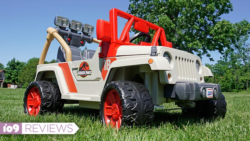 Fisher Price Jurassic Park Power Wheels Tribute Review
