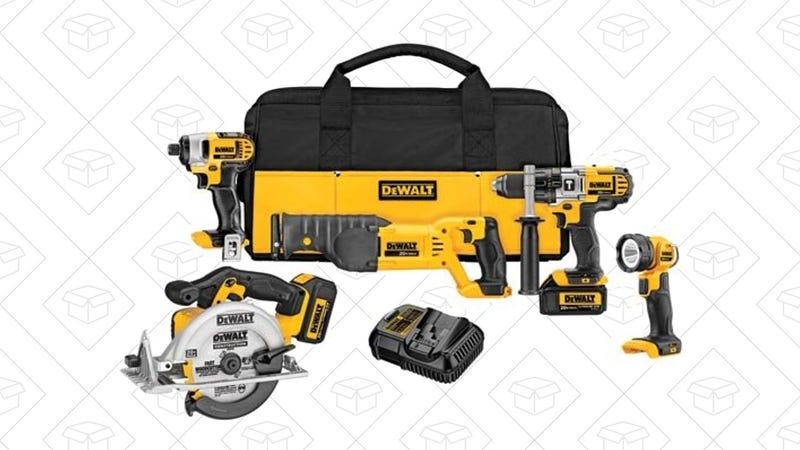 DEWALT 20V Premium 5-Tool Combo Kit | $399 | Amazon