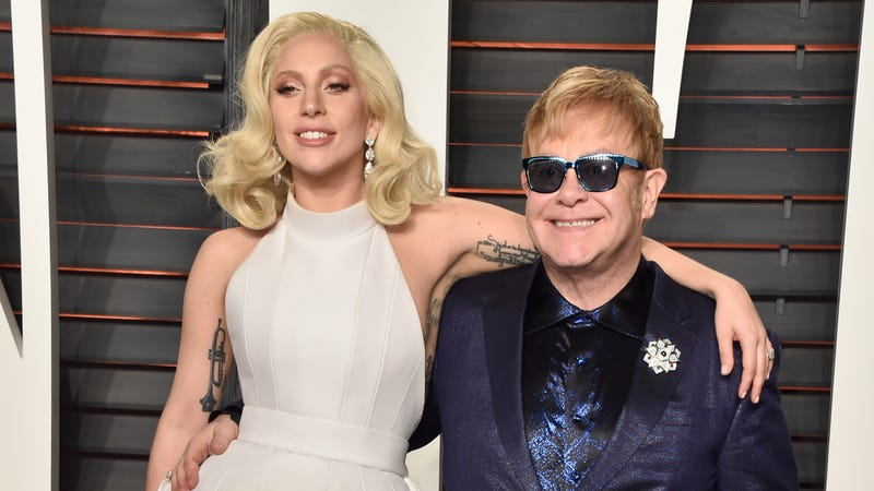 """Illustration for article titled Elton John makes bold prediction that """"Shallow"""" will win Oscar for Best Original Song"""