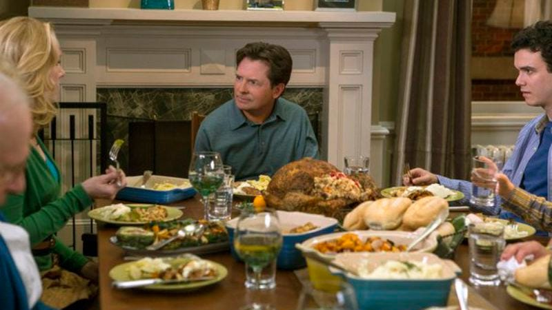 "Illustration for article titled The Michael J. Fox Show: ""Thanksgiving"""