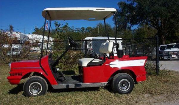 Hot Rods, Fire Trucks And More: Seven Crazy Golf Cart Mods