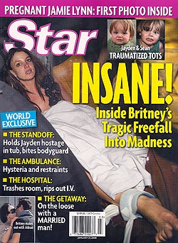 Illustration for article titled This Week In Tabloids: Yeah, Britney Goes Bonkers