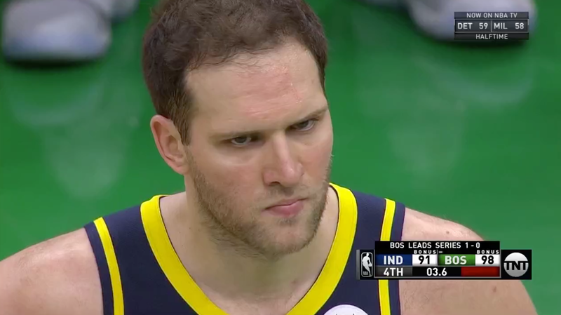 The Pacers Kept Handing Bojan Bogdanovic The Ball Until It Killed Them