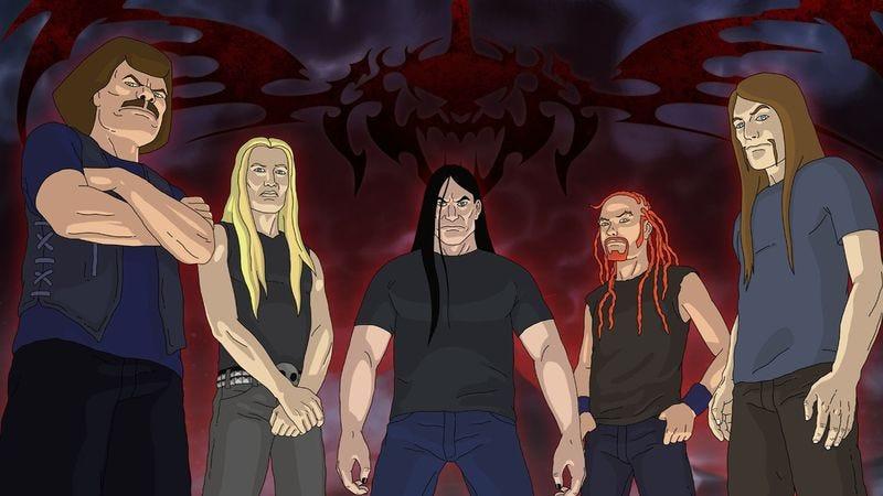 "Illustration for article titled Metalocalypse: ""Diversityklok"""