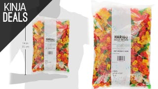 Illustration for article titled This Is Not a Drill: Five Pounds of Gummi Bears for $11!