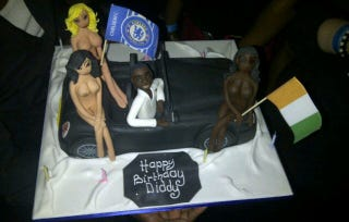 Illustration for article titled Didier Drogba's Boobsy Birthday Cake (NSFW)