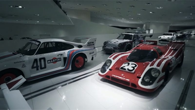 Illustration for article titled Take A Deeply Pornographic Trip Inside The Porsche Museum, Where Dreams Are Made Real