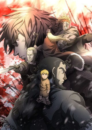 Illustration for article titled Here it is the new promo of Vinland Saga!