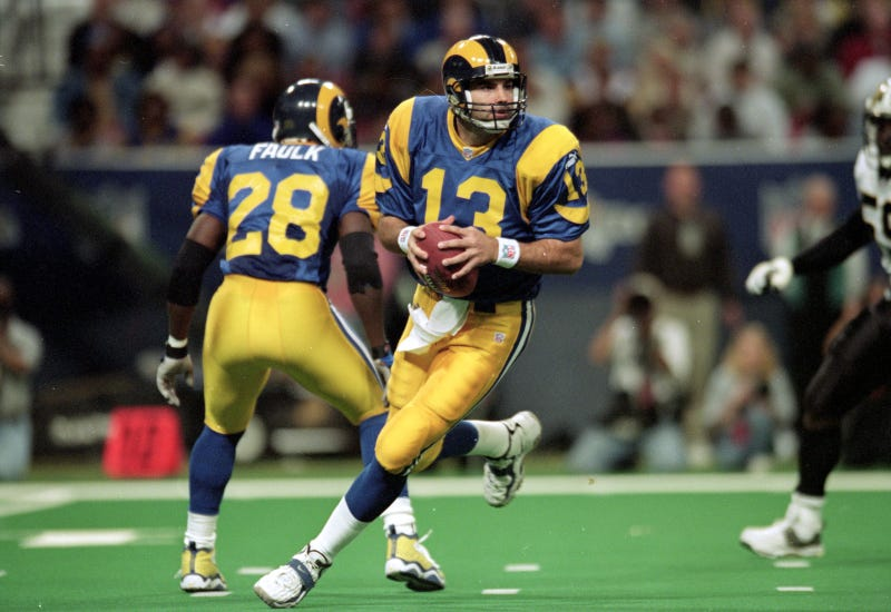 Illustration for article titled The Rams Will Wear Those Sweet 1999 Throwbacks Tonight