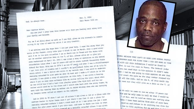 Hamilton Gas Prices >> Letters From Death Row: Robert Ladd, Texas Inmate 999237