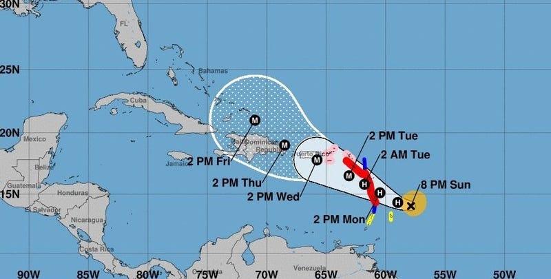 En Vivo | El huracán María azota Puerto Rico