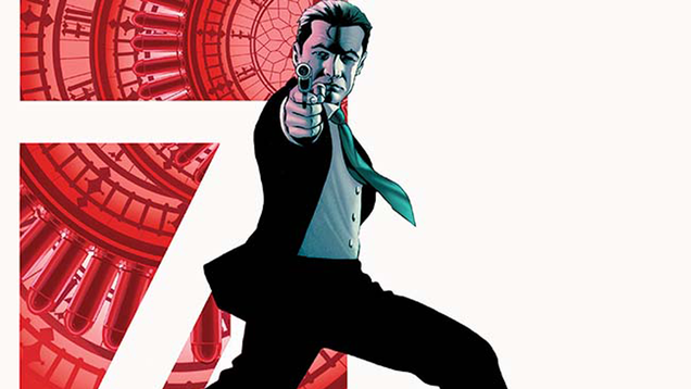 the james bond comic has a new mission courtesy of green arrow s ben percy