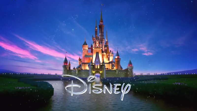 A modern take on the Disney Pictures logo, still with that weird squiggly D. Tell me that's not a J. Why is that not a J?