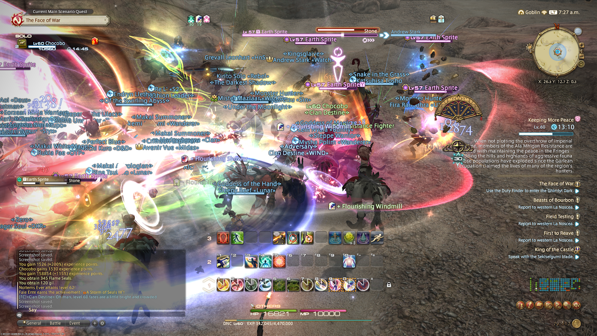 Final Fantasy XIV Shadowbringers Log One: There's A Dancer In My Bunny