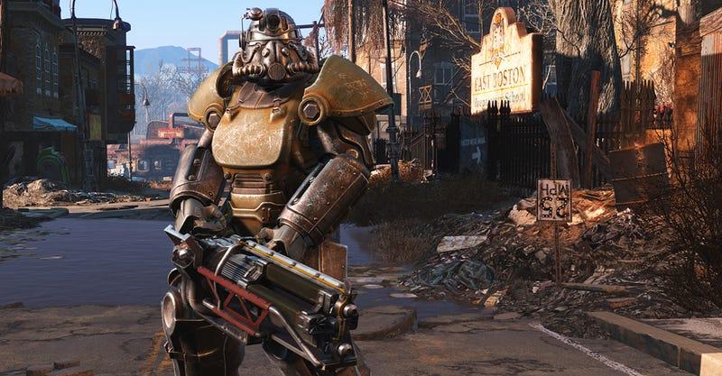 Illustration for article titled Cruzar el mapa de Fallout 4 de un extremo a otro solo lleva 10 minutos