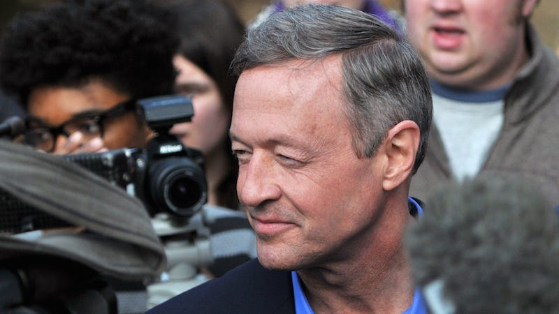 Illustration for article titled A Fond Farewell to Martin O'Malley, Who Never Did Get His 30 Seconds to Respond