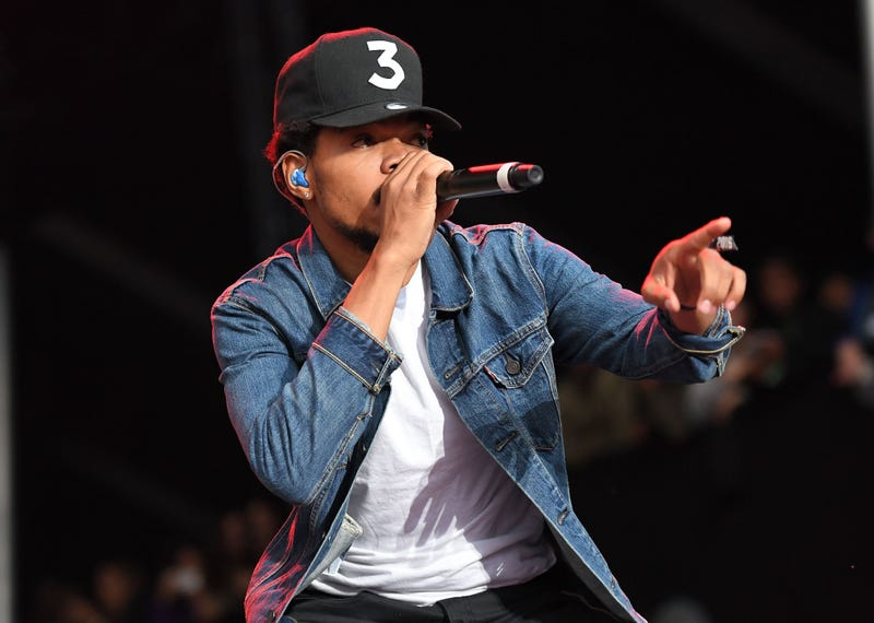 Chance the Rapper ANGELA WEISS/AFP/Getty Images