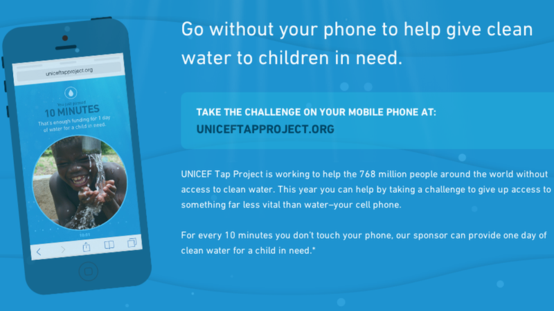 Illustration for article titled Help Get Clean Water to Kids in Need, Just by Ignoring Your Damn Phone