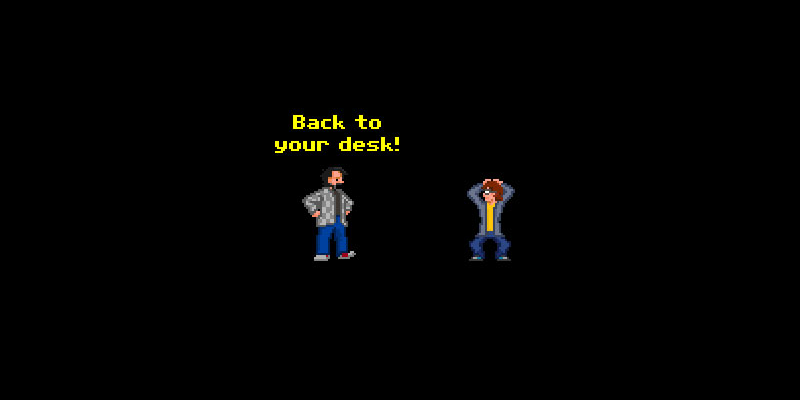 Illustration for article titled Genius Turns Job Application Into Lucasarts Adventure Game