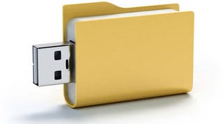 Illustration for article titled Finger Folder USB
