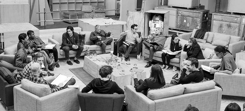 Illustration for article titled Star Wars Episode VII cast officially announced, at last!