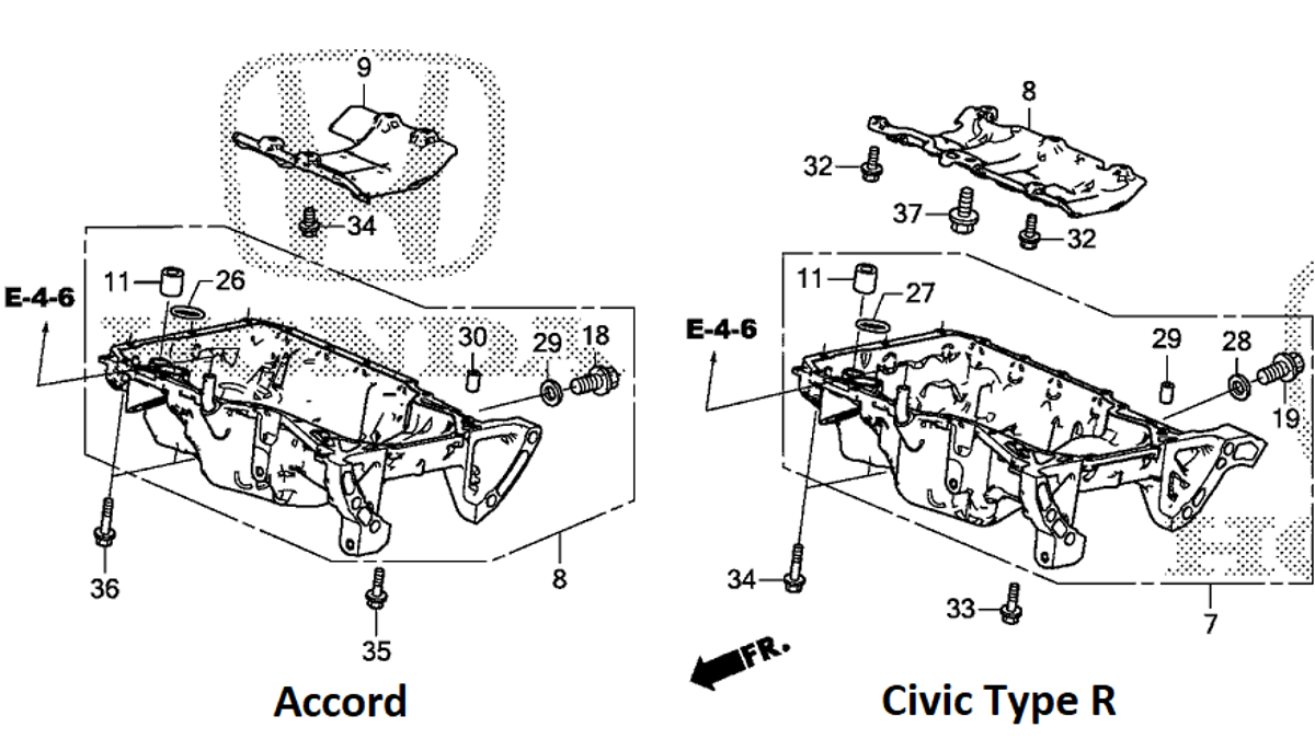Heres Exactly What Makes The 2018 Honda Accord And Civic Type R 4 6 Engine Oil System Diagram Engines Different