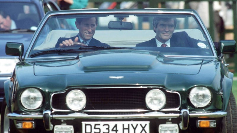 Illustration for article titled Prince Charles drives a car that (sorta) runs on white wine