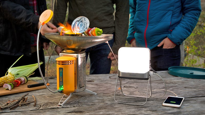 Illustration for article titled BioLite's New Bluetooth Lantern Means Smartphones Are Now an Essential Camping Accessory