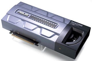 Illustration for article titled ASUS Mars GTX 295 Smoothly Running Far Cry at 3840 x 2160 Pixels