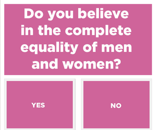 Illustration for article titled Problematic Buzzfeed Quiz: Are You A Feminist