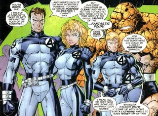 """Illustration for article titled The Common Fallacy of """"Fixing"""" The Fantastic Four"""