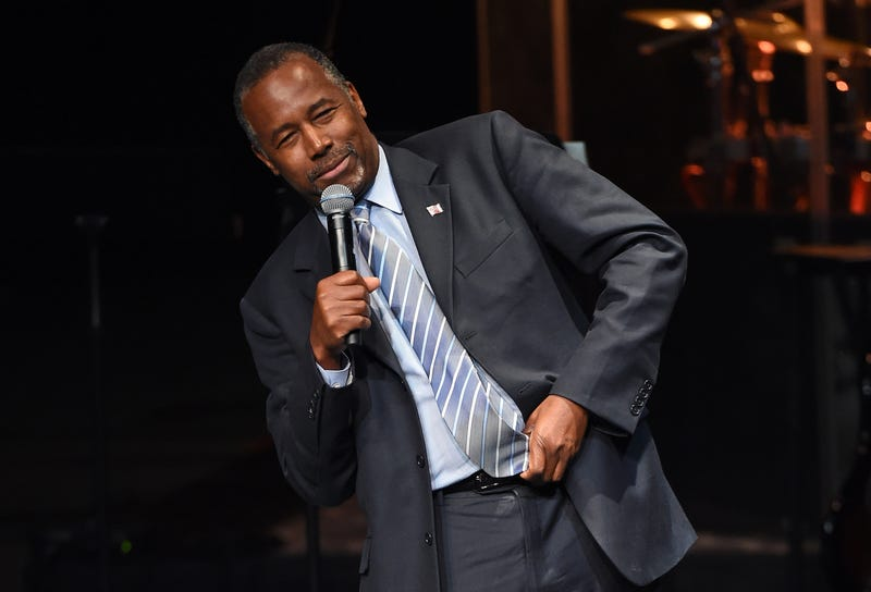Illustration for article titled Ben Carson Proves He's Still Black: $31,000 Dining Room Set Included Breakfront China Cabinet