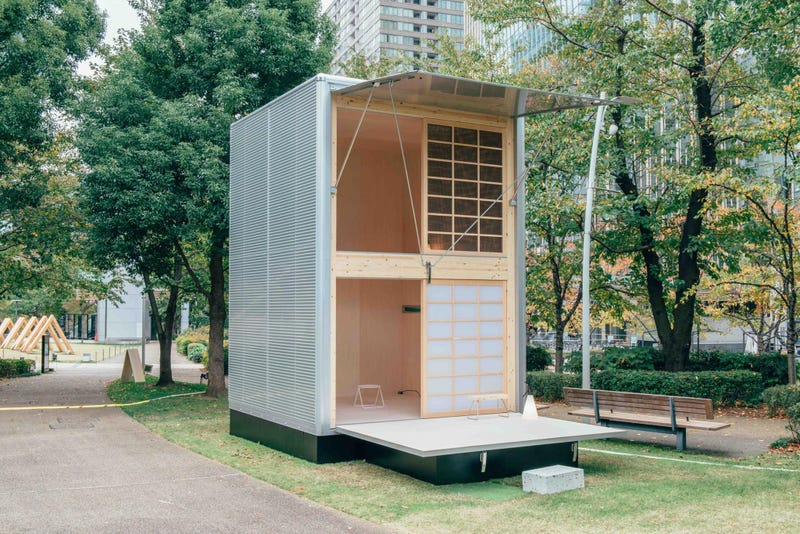 The Designers Who Make Muji's Products Are Now Making Muji Cabins