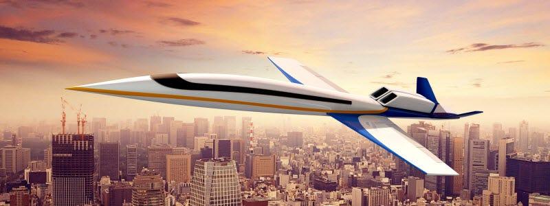 Illustration for article titled Ya puedes encargar el primer jet privado supersónico del mundo